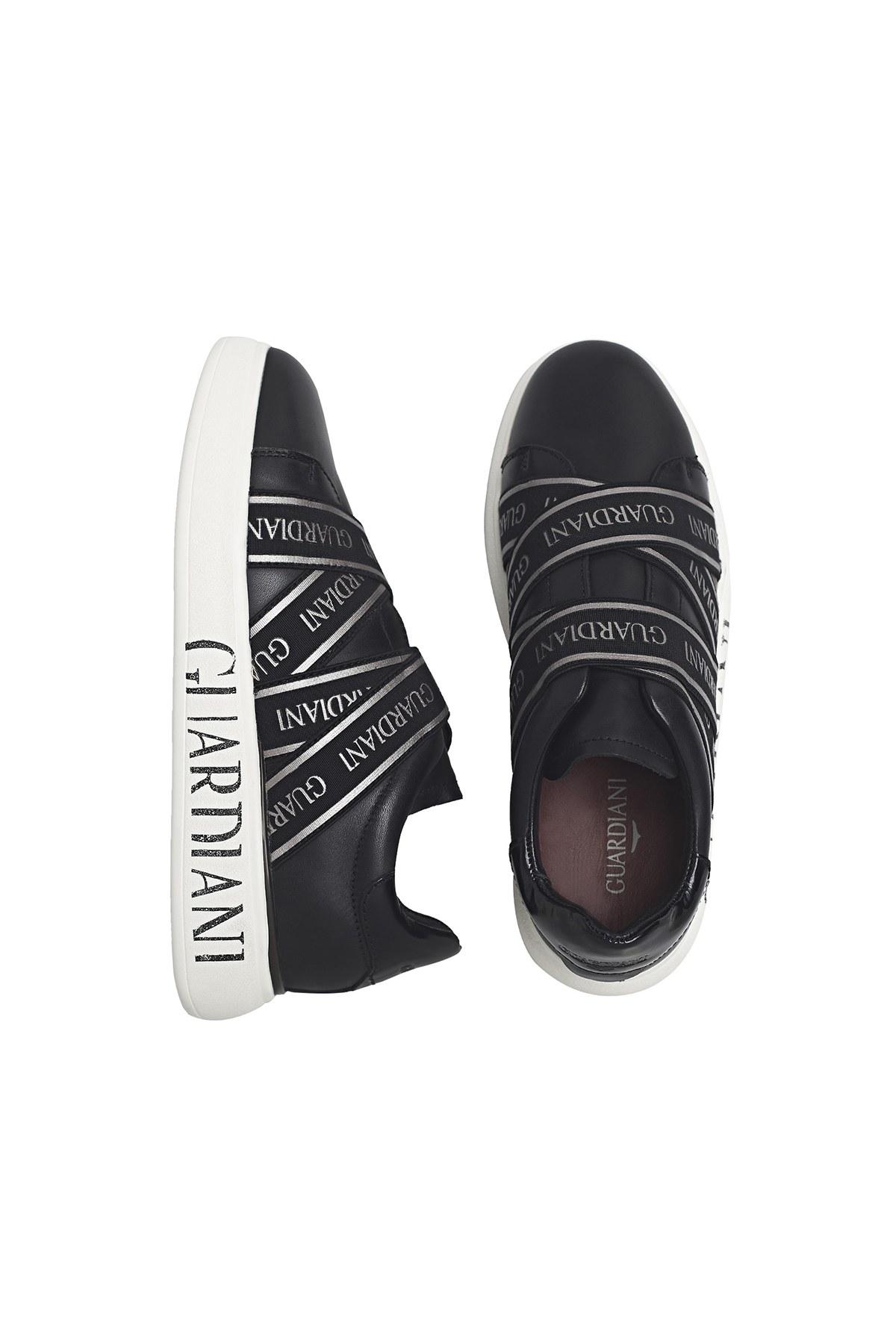 Alberto Guardiani Deri Bayan Ayakkabı AGW001500 SİYAH
