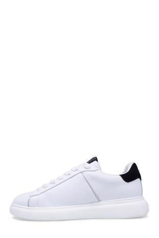 Alberto Guardiani Erkek Ayakkabı AGU101123 BEYAZ