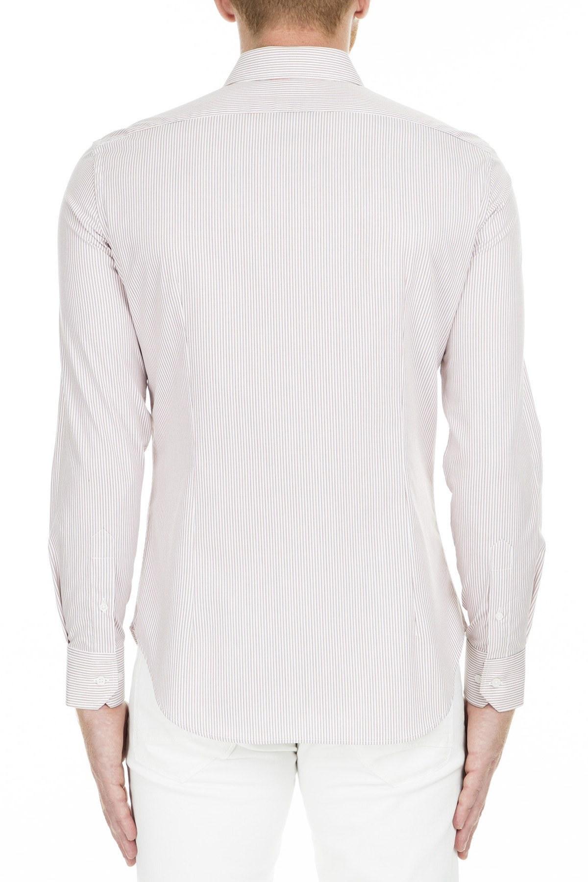 Armani Collezioni Gömlek Erkek Uk Gömlek SCCSBL SCC02 C013 KIRMIZI