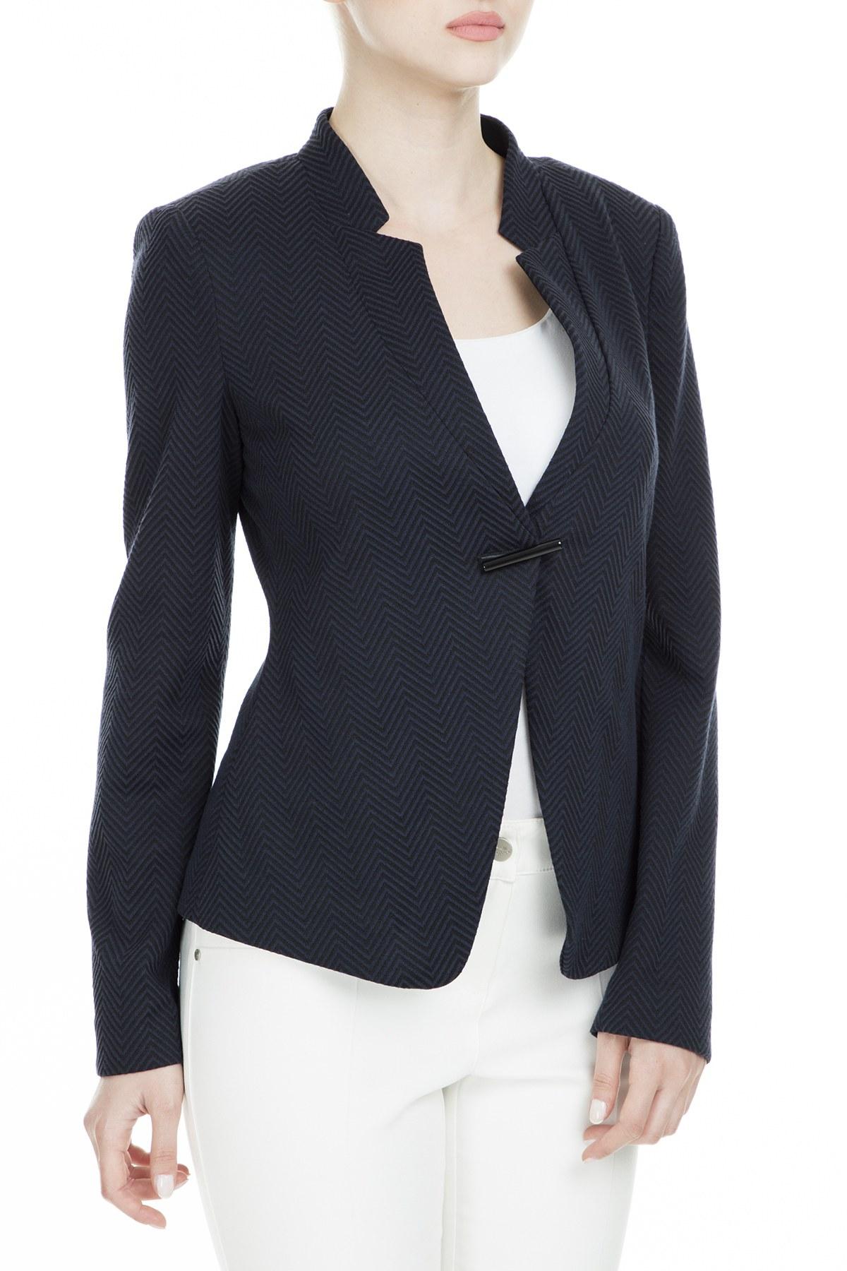 Armani Collezioni Kadın Ceket 3XMG53 MJEEZ C0030 LACİVERT