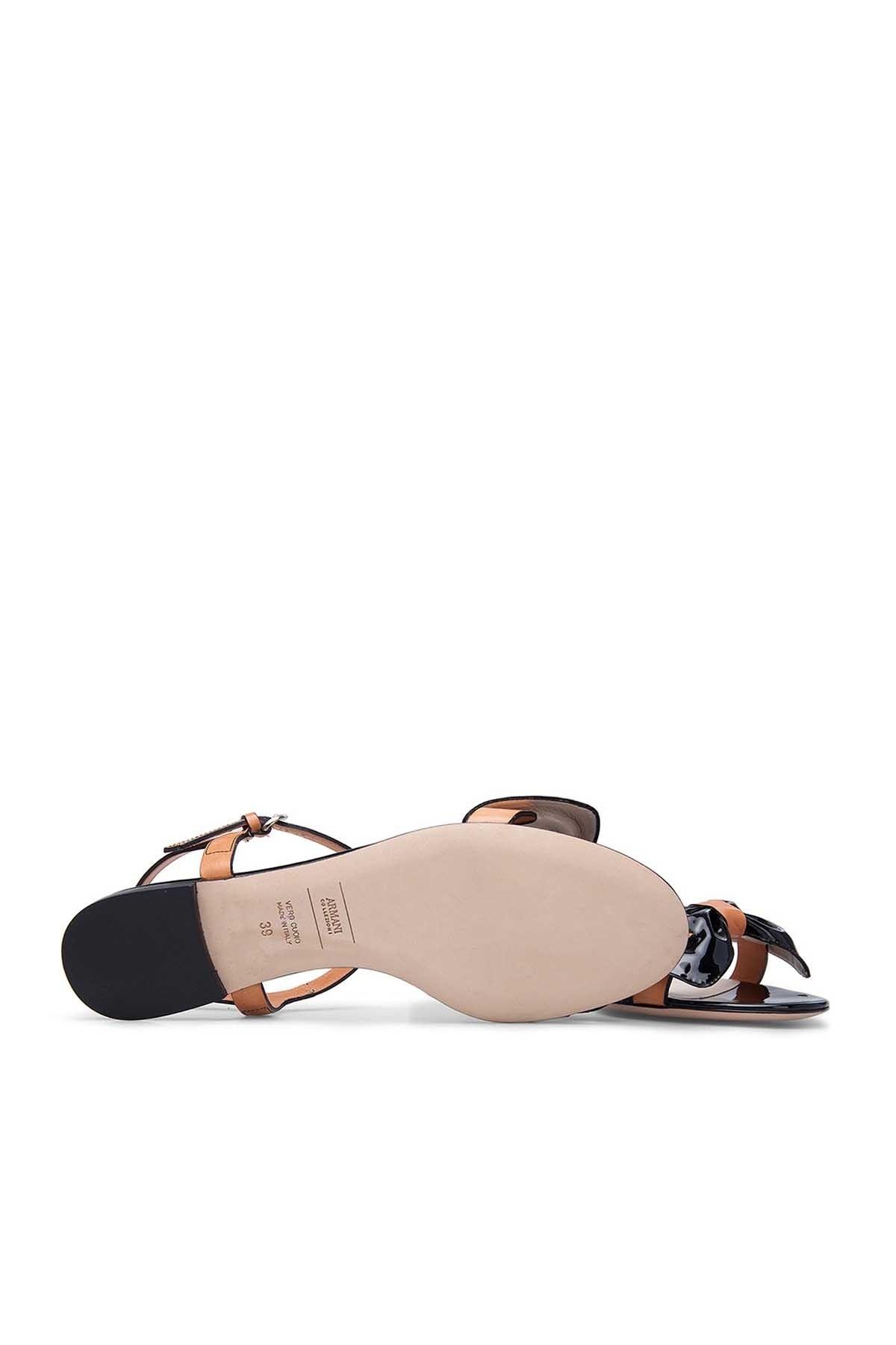 ARMANI COLLEZIONI Bayan Sandalet XAD627 XAO71 CD244