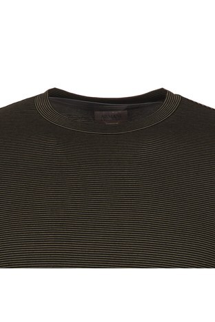 ARMANI COLLEZIONI T SHIRT Erkek T Shirt 3YCM54CJBYZ C0018