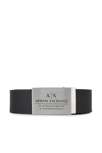Armani Exchange % 100 Hakiki Deri Erkek Kemer 951251 1P021 00020 SİYAH