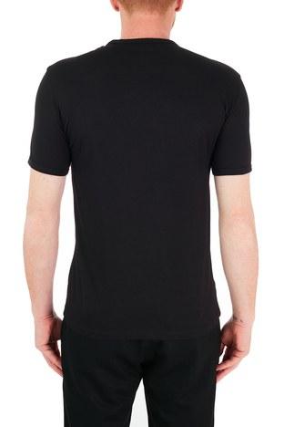 Armani Exchange - Armani Exchange % 100 Pamuk Bisiklet Yaka Erkek T Shirt 8NZTCC Z8H4Z 7273 SİYAH (1)