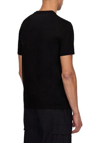Armani Exchange - Armani Exchange Erkek T Shirt 3KZTLD ZJ9AZ 1200 SİYAH (1)