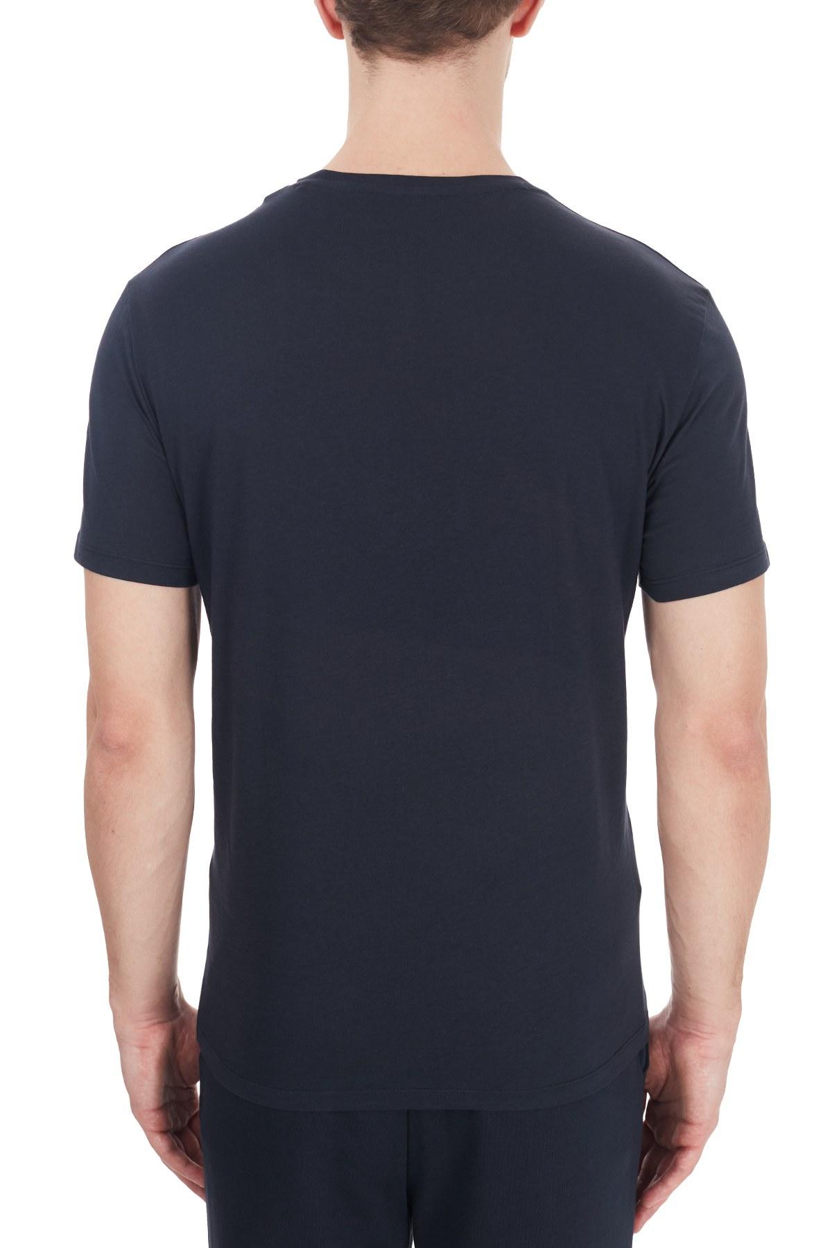 Armani Exchange Erkek T Shirt 6HZTAH ZJA5Z 1510 LACİVERT