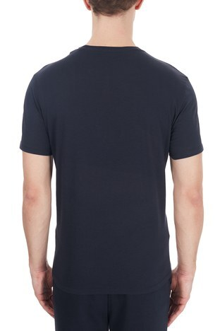 Armani Exchange - Armani Exchange Erkek T Shirt 6HZTAH ZJA5Z 1510 LACİVERT (1)
