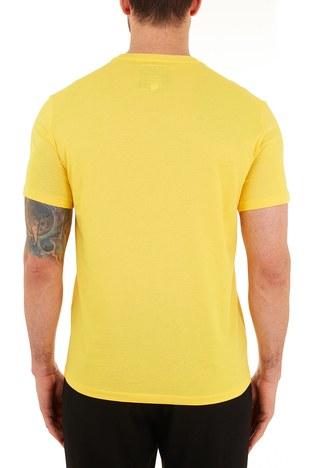 Armani Exchange - Armani Exchange % 100 Pamuklu Bisiklet Yaka Erkek T Shirt 8NZTPA ZJH4Z 1620 SARI (1)