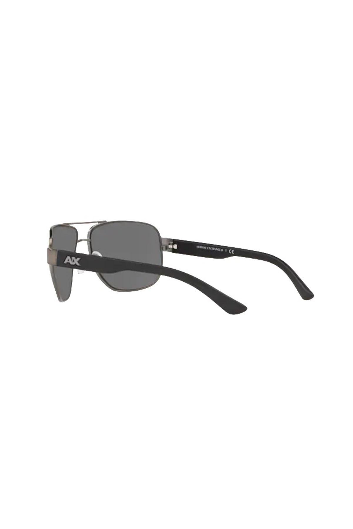 Armani Exchange Aynalı Erkek Gözlük 0AX2012S 60066G 62 KOYU GRİ