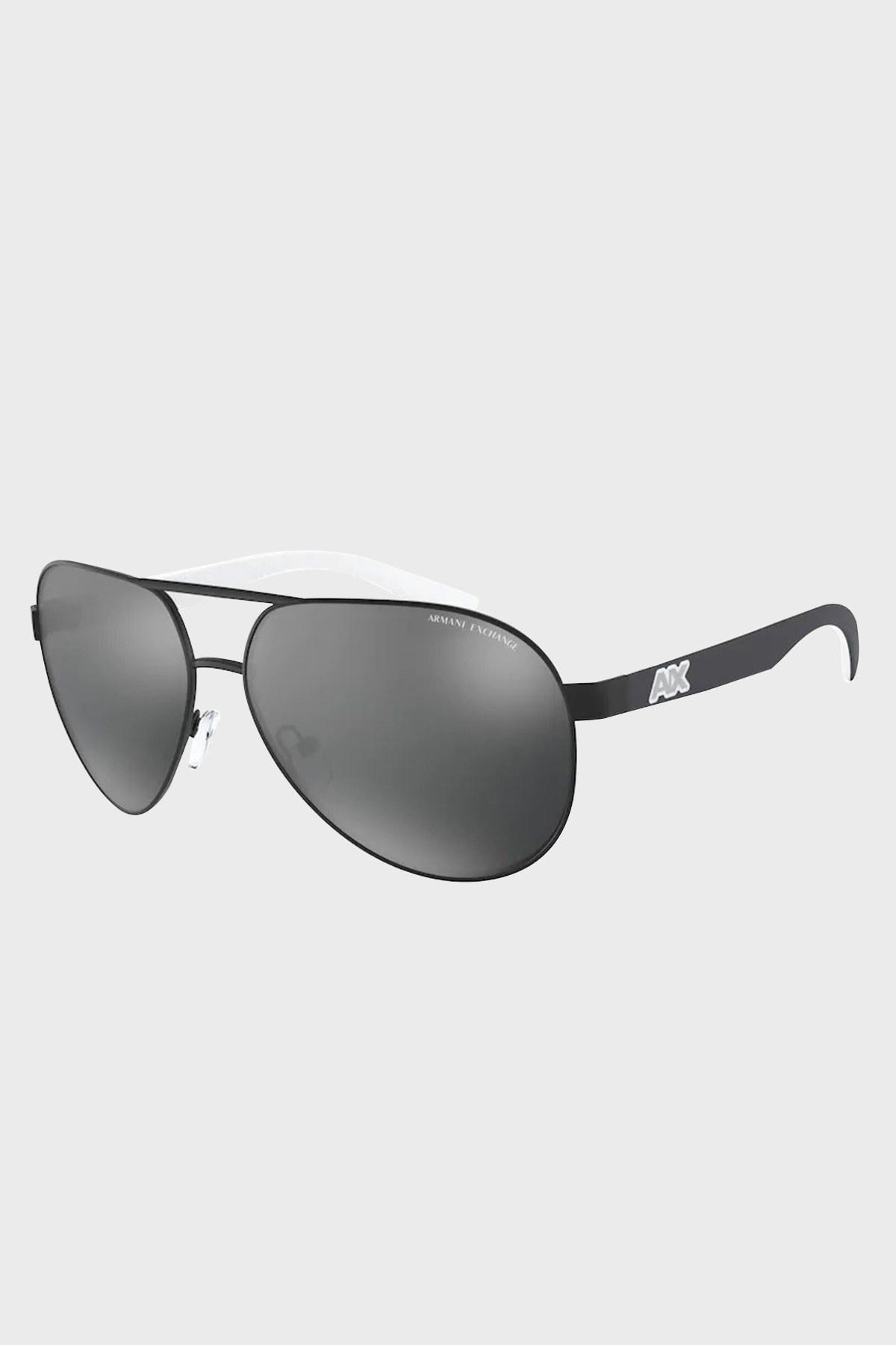 Armani Exchange Aynalı Erkek Gözlük 0AX2031S 60636G 60 SİYAH