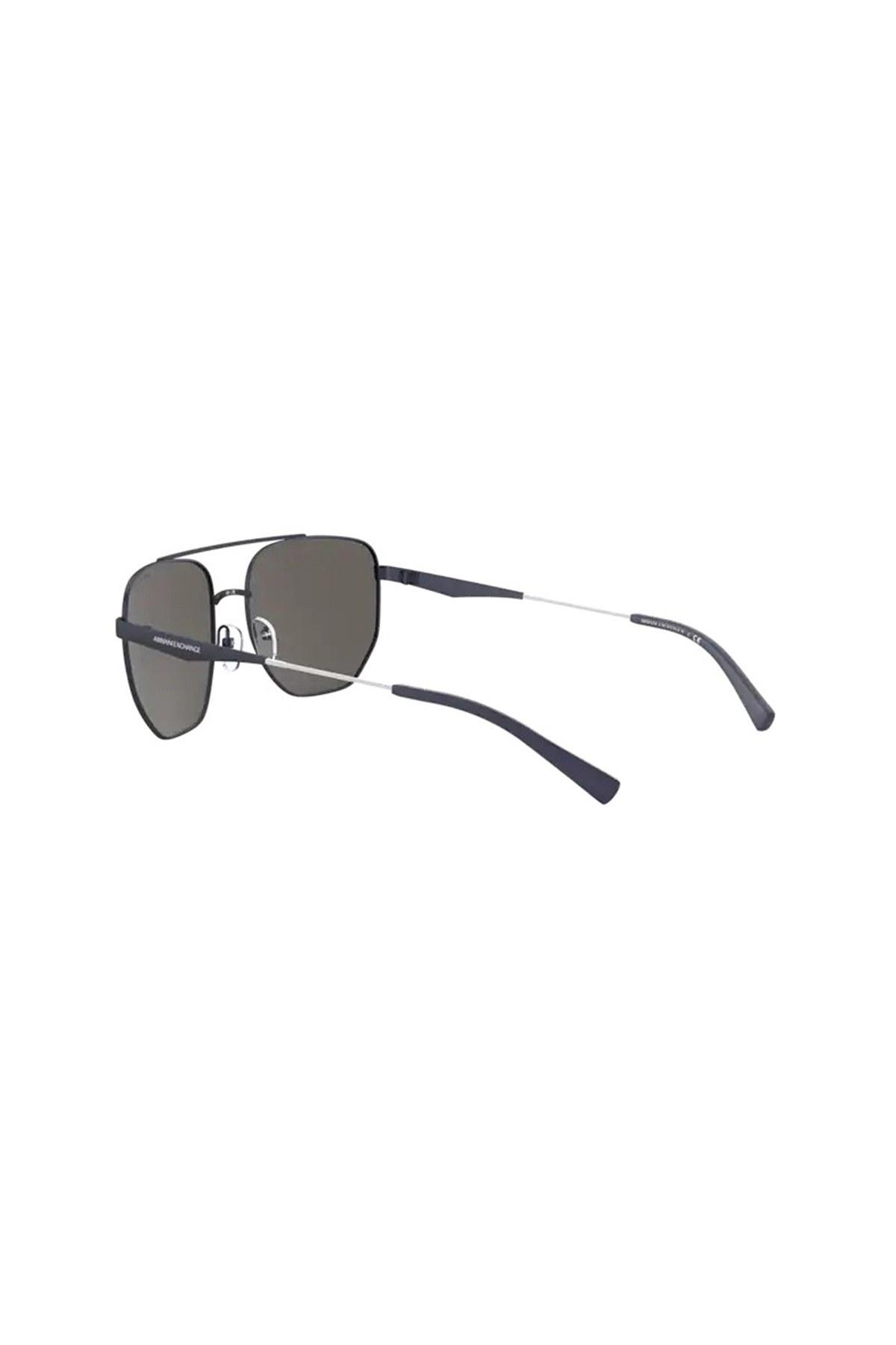 Armani Exchange Aynalı Erkek Gözlük 0AX2033S 61136G 59 LACİVERT