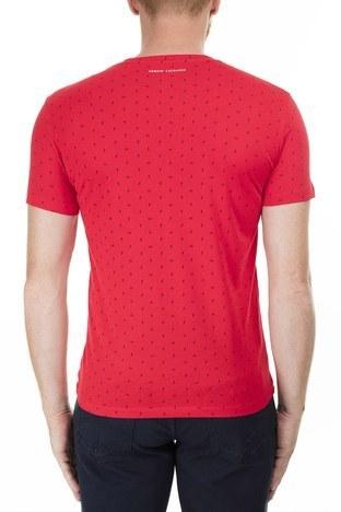 Armani Exchange - Armani Exchange Erkek T Shirt 3HZTFR ZJH4Z 2406 KIRMIZI (1)