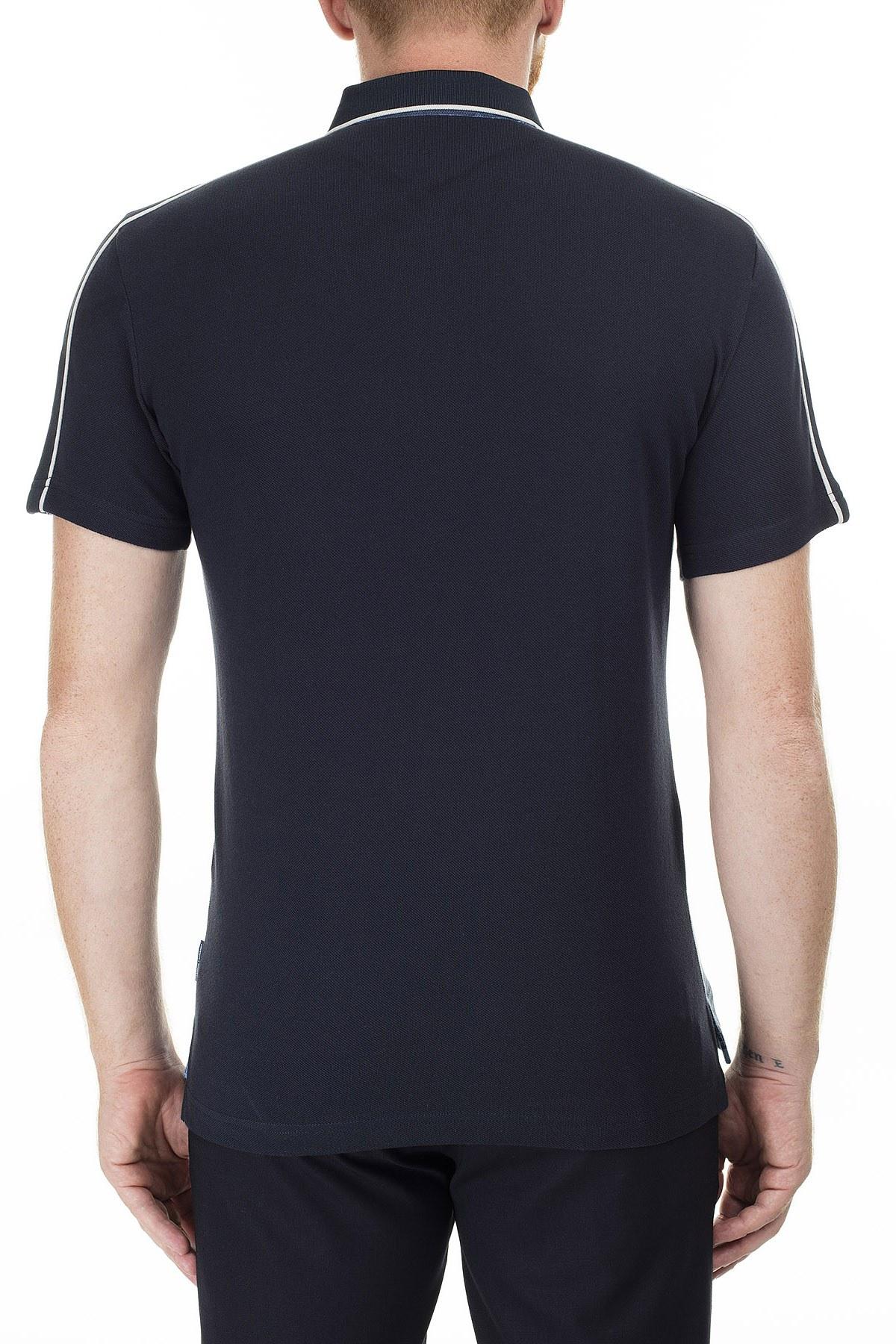Armani Exchange Desenli Regular Fit T Shirt Erkek Polo 3HZFGC ZJM5Z 9507 SAKS