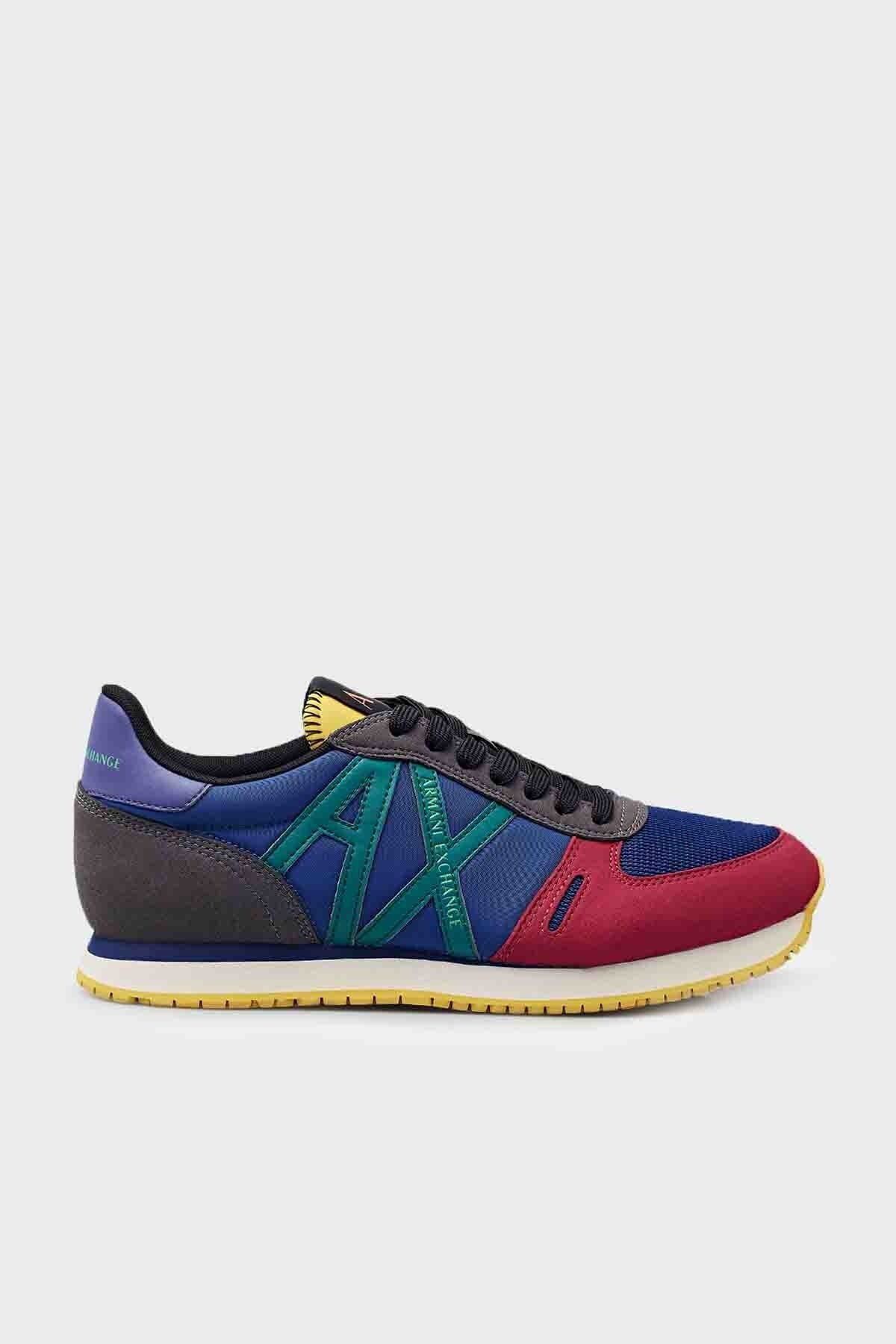 Armani Exchange Erkek Ayakkabı XUX017 XCC68 A500 KIRMIZI-BEYAZ