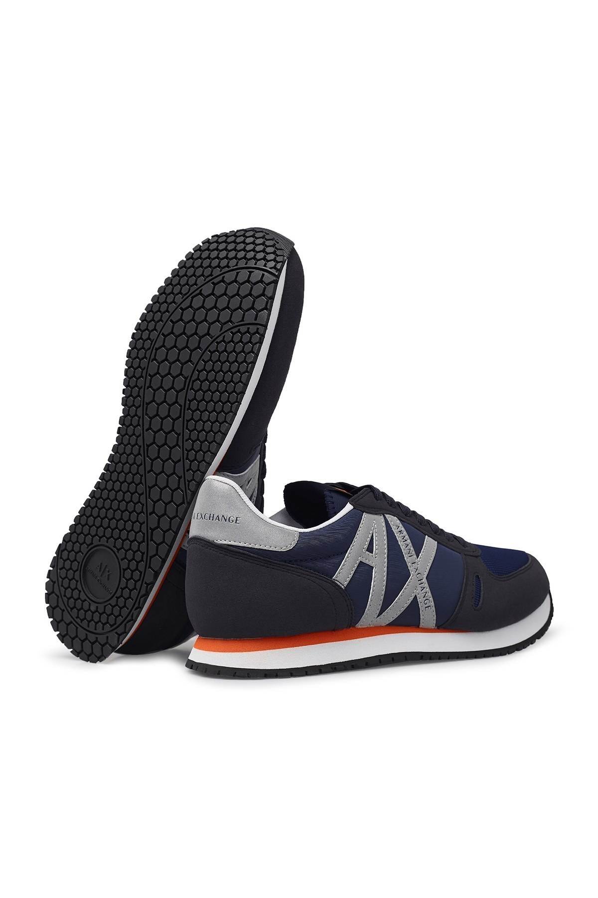 Armani Exchange Erkek Ayakkabı XUX017 XCC68 K499 LACİVERT-GRİ