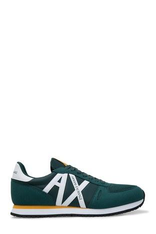 Armani Exchange - Armani Exchange Erkek Ayakkabı XUX017 XV028 A133 YEŞİL-BEYAZ