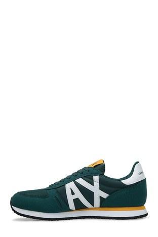 Armani Exchange - Armani Exchange Erkek Ayakkabı XUX017 XV028 A133 YEŞİL-BEYAZ (1)