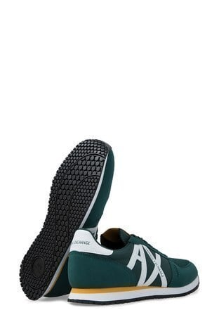 Armani Exchange Erkek Ayakkabı XUX017 XV028 A133 YEŞİL-BEYAZ