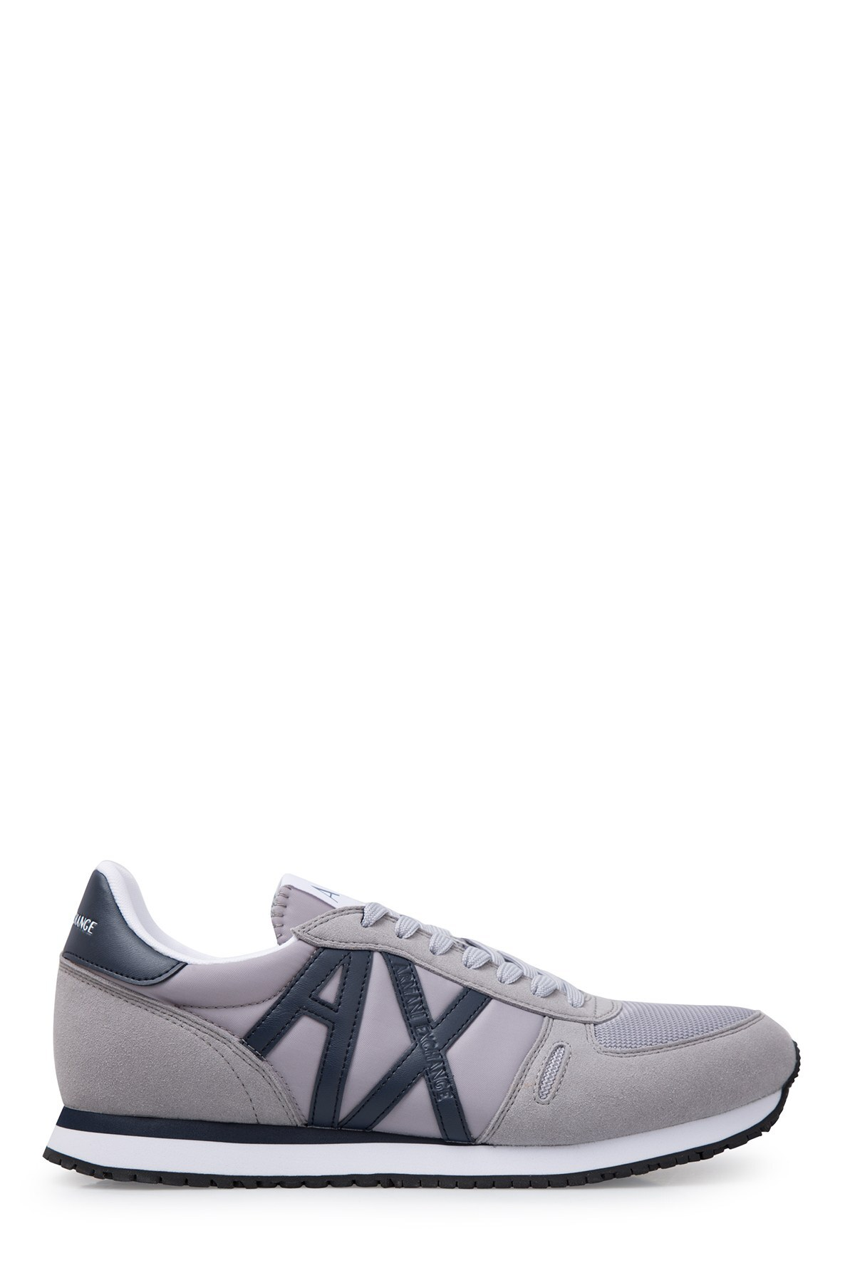 Armani Exchange Erkek Ayakkabı XUX017 XV028 D290 GRİ-LACİVERT