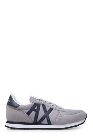 Armani Exchange - Armani Exchange Erkek Ayakkabı XUX017 XV028 D290 GRİ-LACİVERT