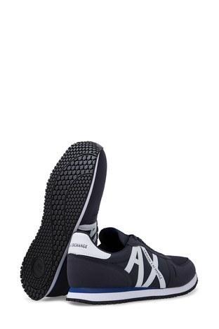 Armani Exchange Erkek Ayakkabı XUX017 XV028 D813 LACİVERT-BEYAZ
