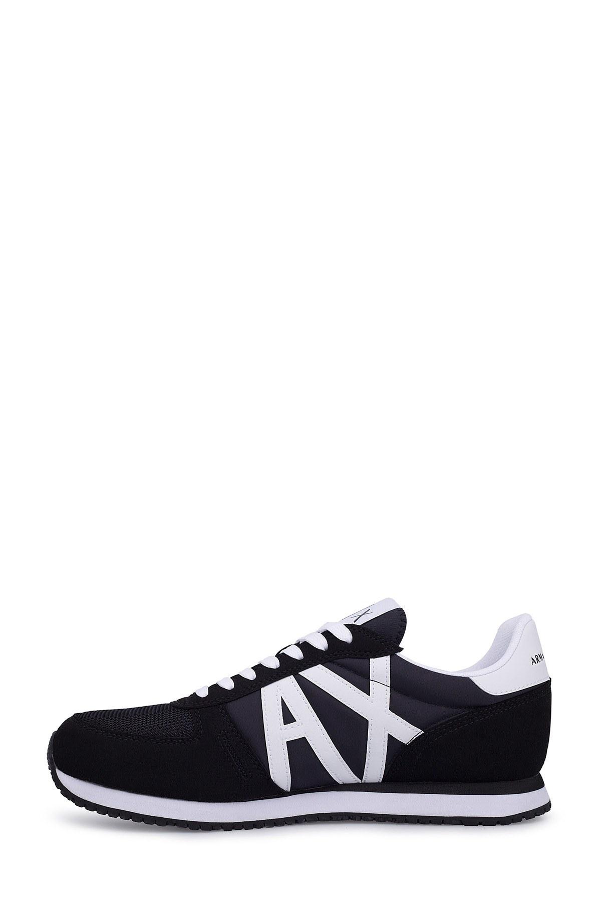 Armani Exchange Erkek Ayakkabı XUX017 XV028 K489 SİYAH-BEYAZ