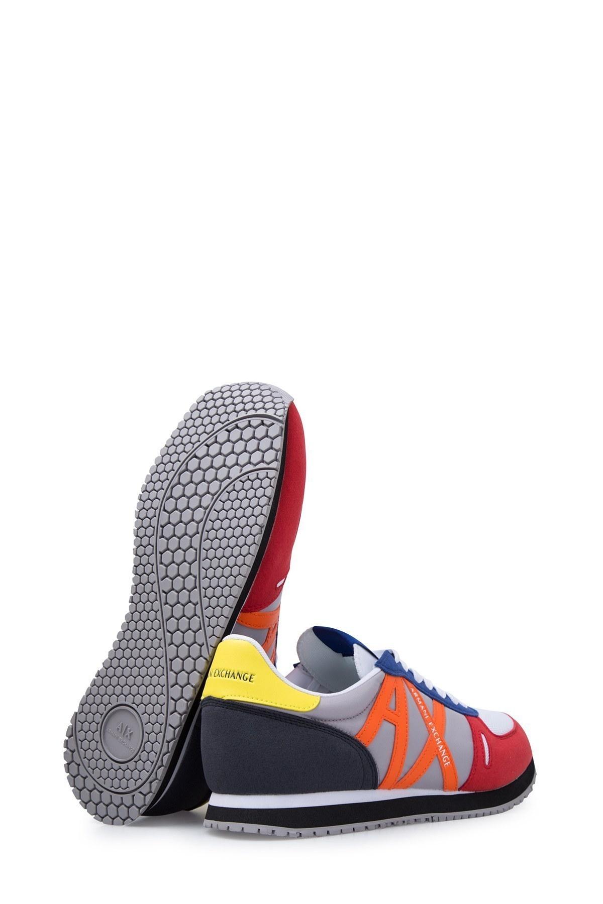 Armani Exchange Erkek Ayakkabı XUX017 XV028 K492 KIRMIZI-SAKS