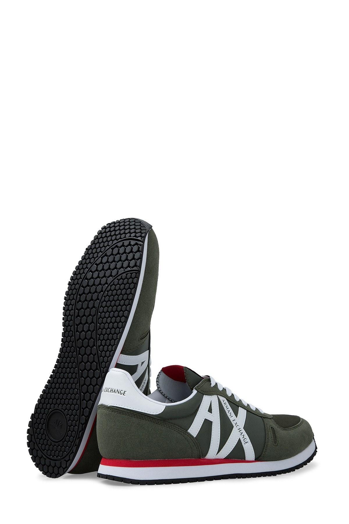 Armani Exchange Erkek Ayakkabı XUX017 XV028 K494 HAKİ