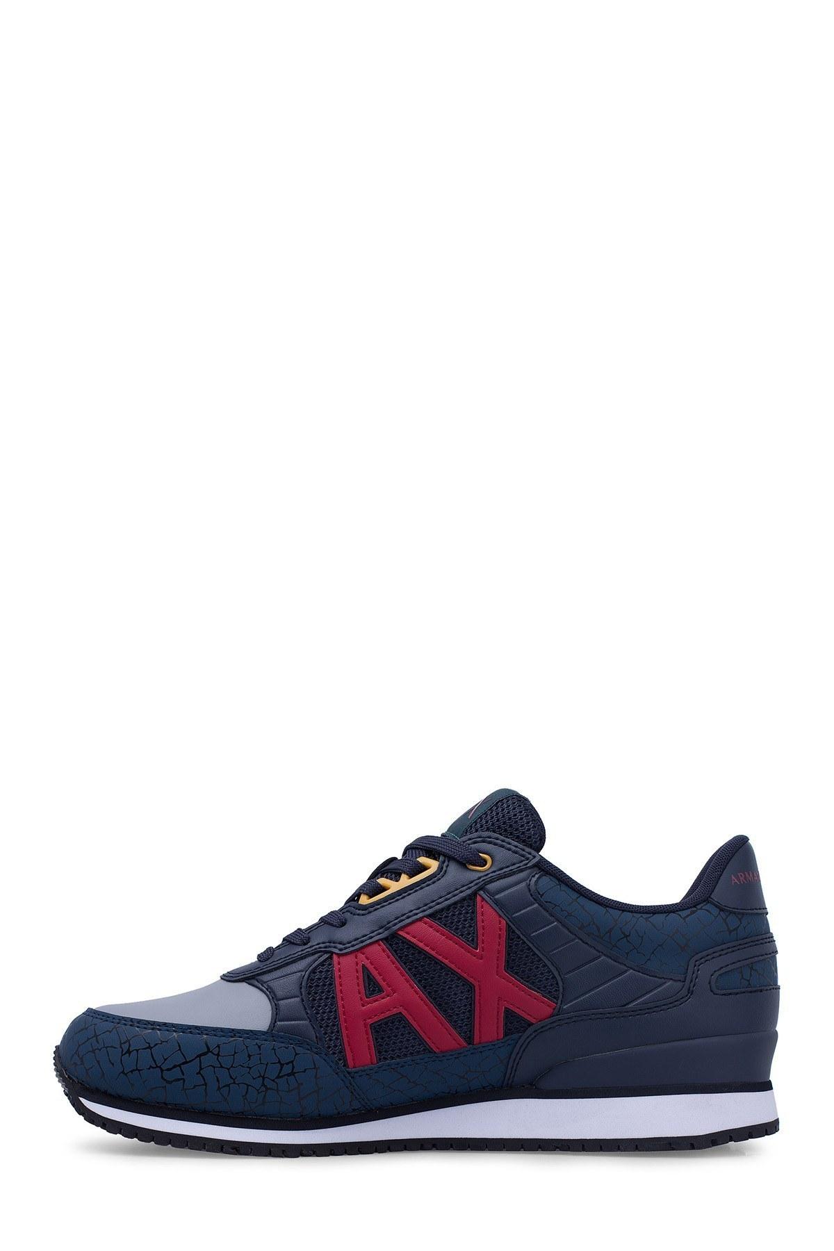 Armani Exchange Erkek Ayakkabı XUX031 XV200 A905 LACİVERT