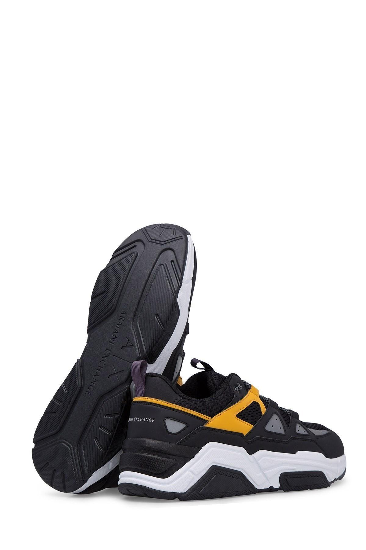 Armani Exchange Erkek Ayakkabı XUX044 XV183 A154 SİYAH