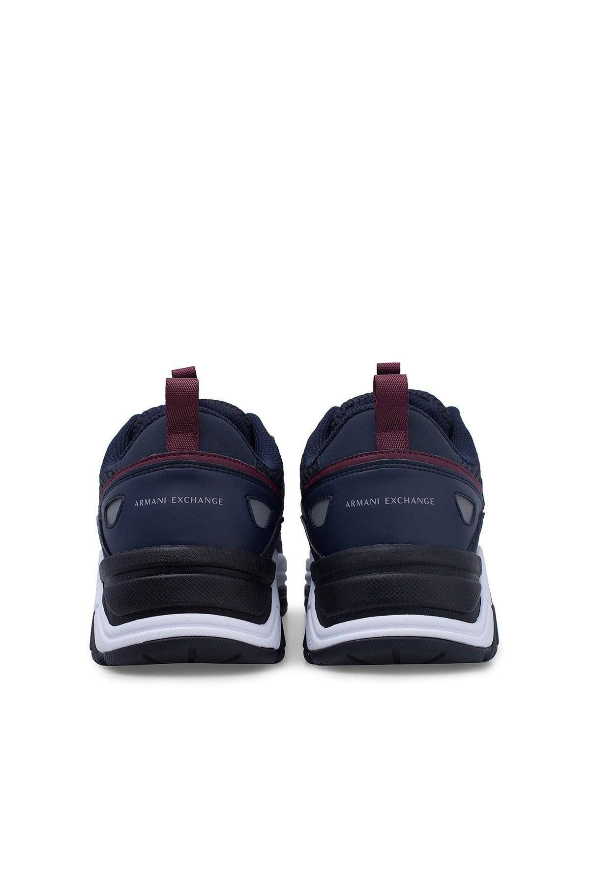 Armani Exchange Erkek Ayakkabı XUX044 XV183 D293 LACİVERT