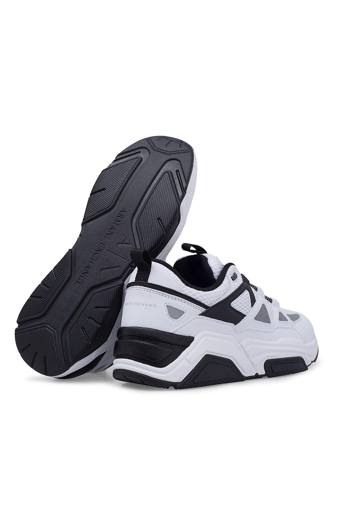 Armani Exchange Erkek Ayakkabı XUX044 XV183 D611 BEYAZ