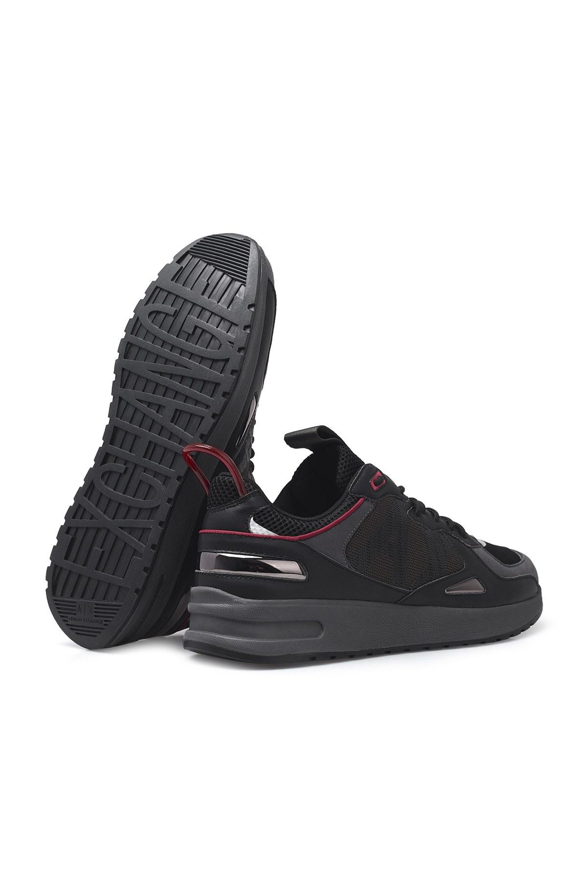 Armani Exchange Erkek Ayakkabı XUX070 XV241 K469 SİYAH
