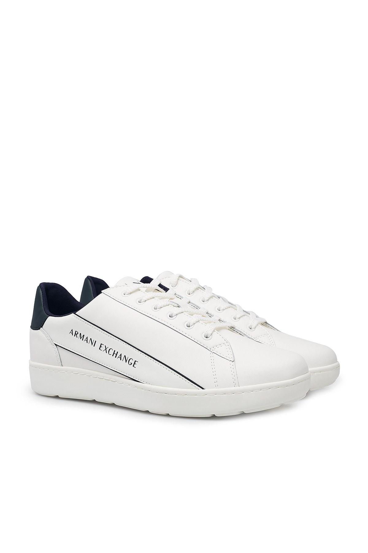 Armani Exchange Erkek Ayakkabı XUX082 XV262 A170 BEYAZ