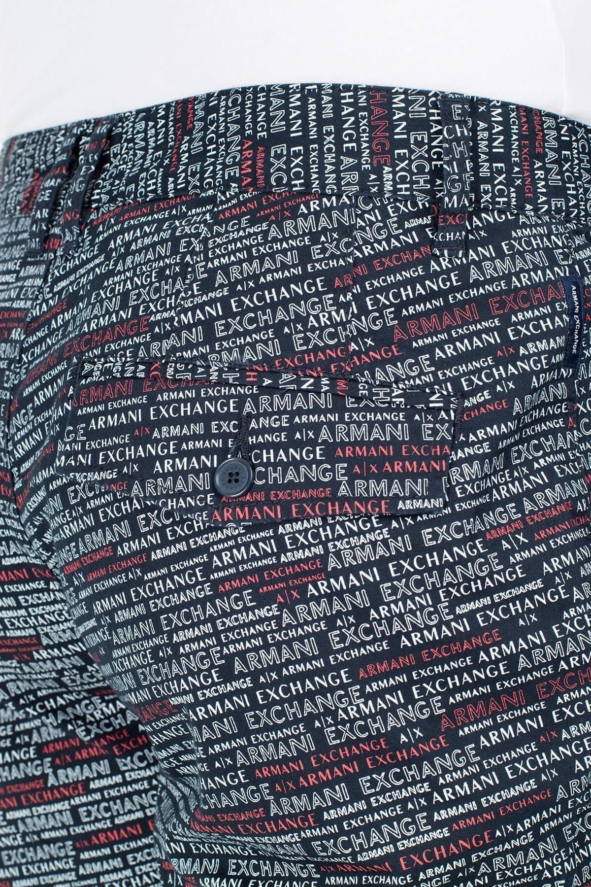 Armani Exchange Erkek Bermuda 3HZS10 ZN24Z 8542 LACİVERT
