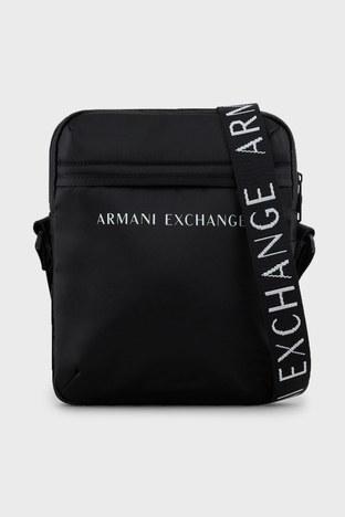 Armani Exchange - Armani Exchange Ayarlanabilir Çapraz Askılı Erkek Çanta 952329 1A809 00020 SİYAH