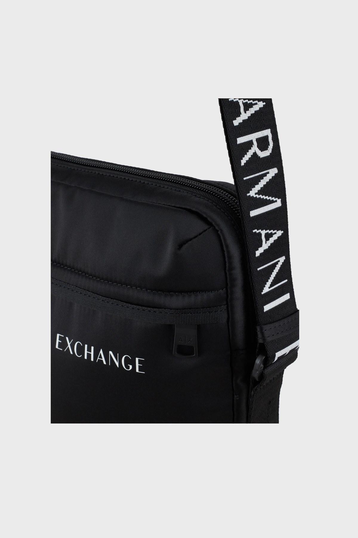 Armani Exchange Ayarlanabilir Çapraz Askılı Erkek Çanta 952329 1A809 00020 SİYAH