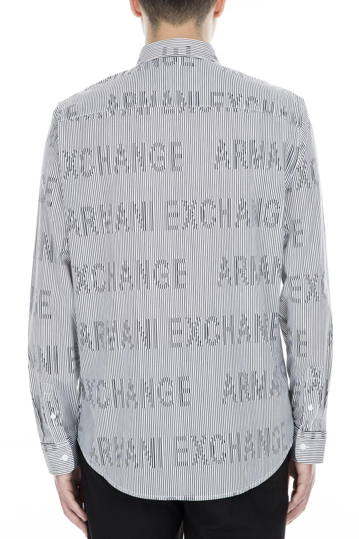 Armani Exchange Erkek Gömlek 3GZC36 ZNEAZ 5130 BEYAZ