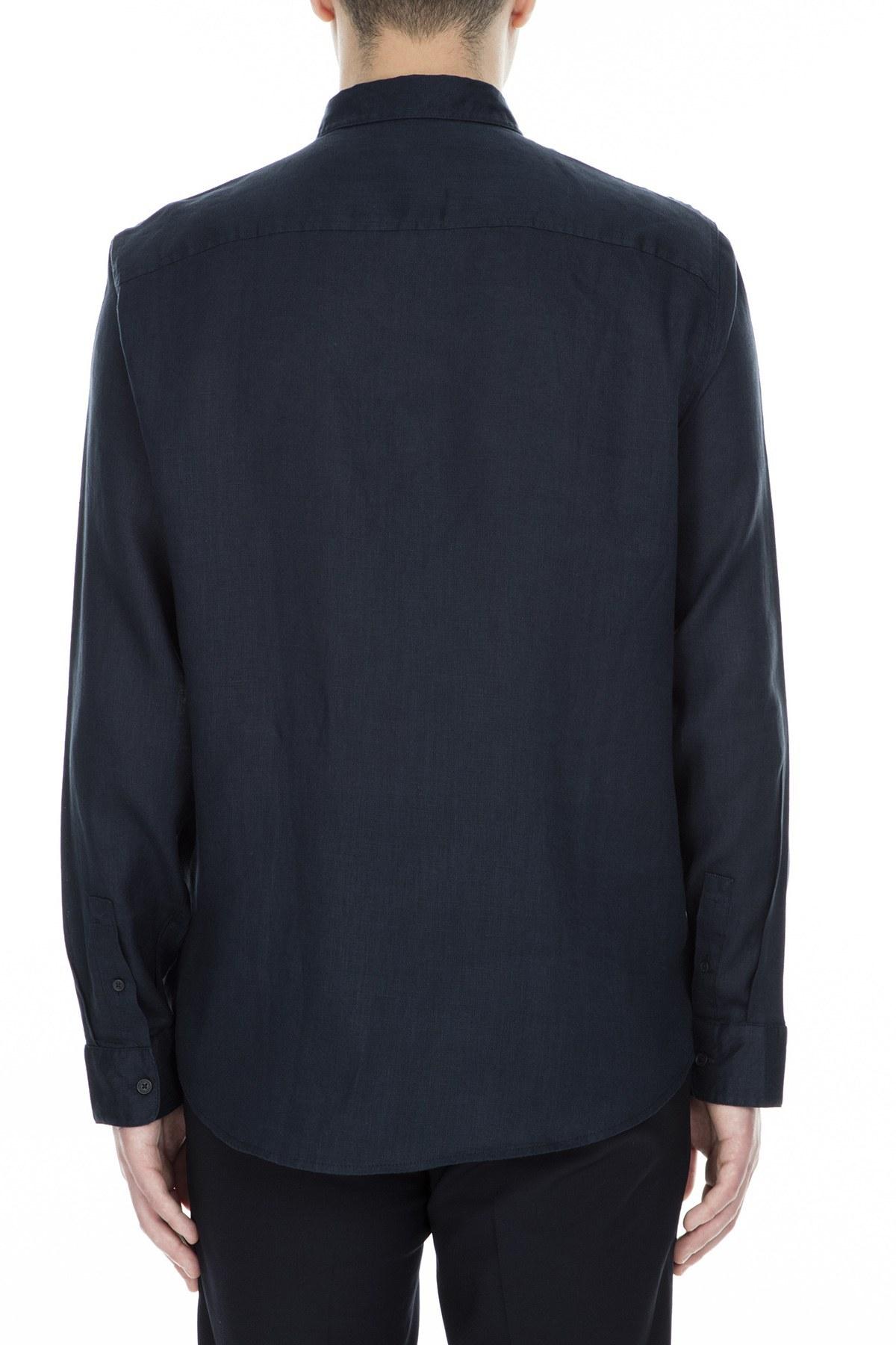 Armani Exchange Erkek Gömlek 3GZC48 ZNCFZ 1510 LACİVERT