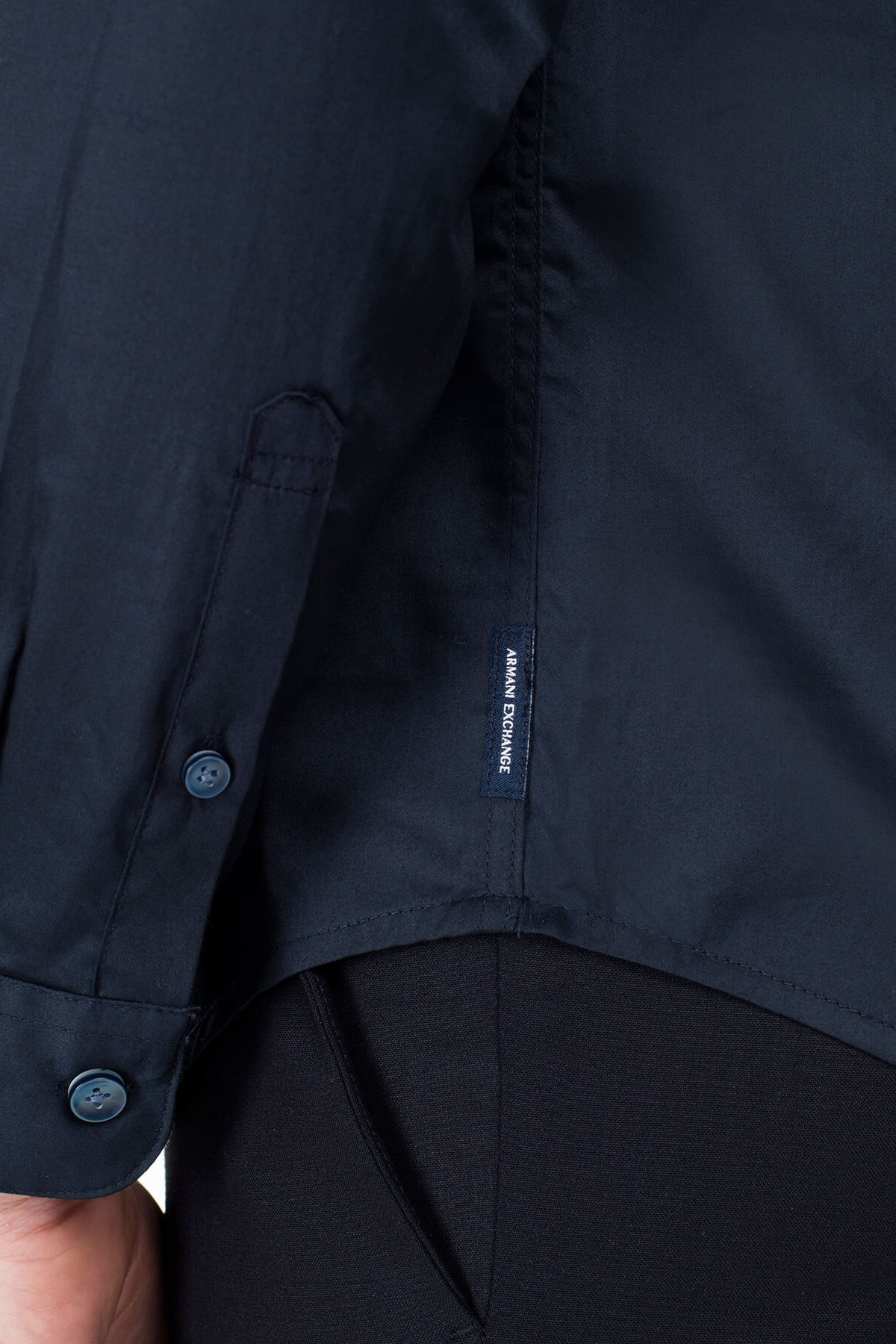 Armani Exchange Erkek Gömlek 3HZC14 ZNAUZ 1510 LACİVERT