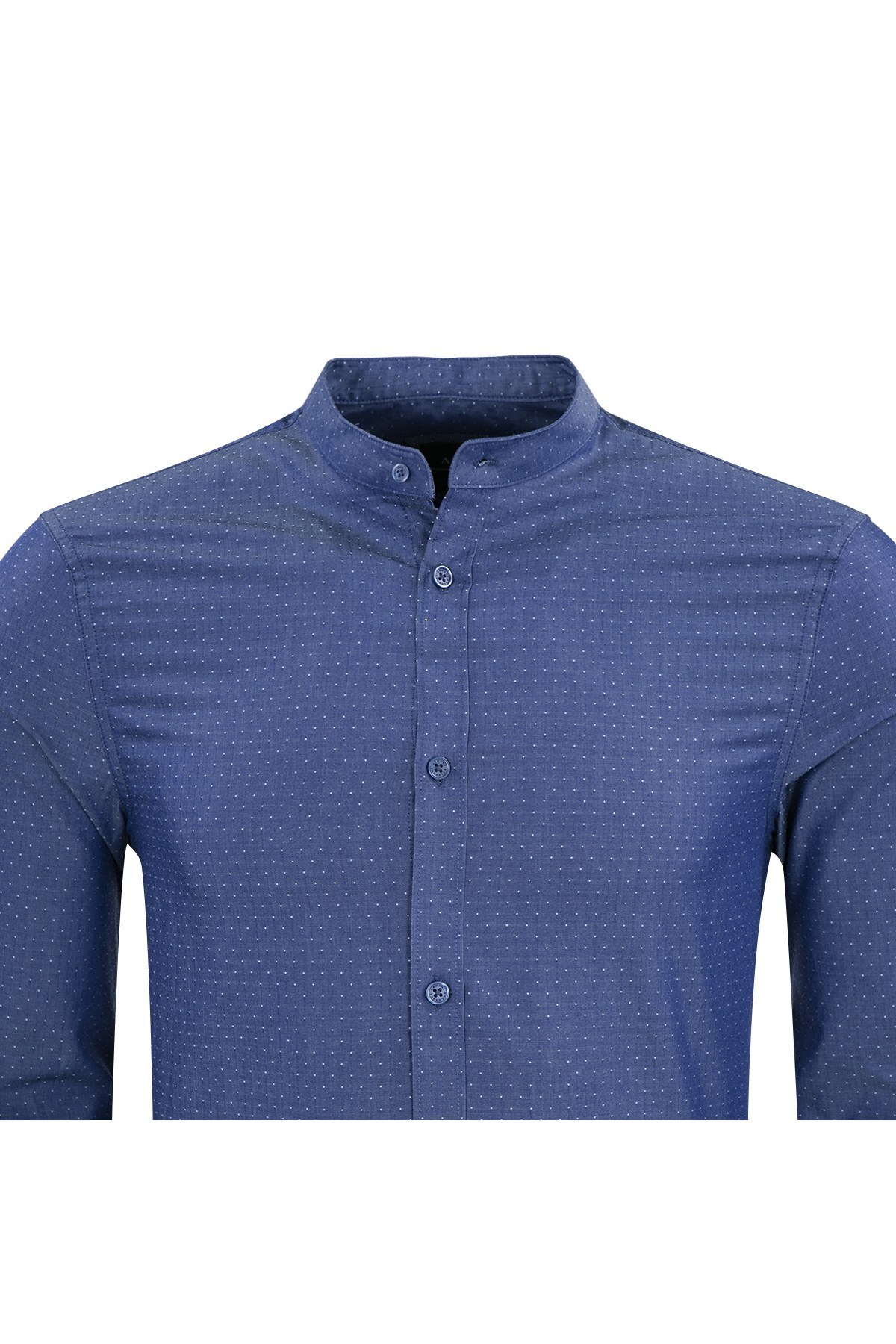 ARMANI EXCHANGE Erkek Gömlek 6ZZC69 ZNZGZ 5570 LACİVERT