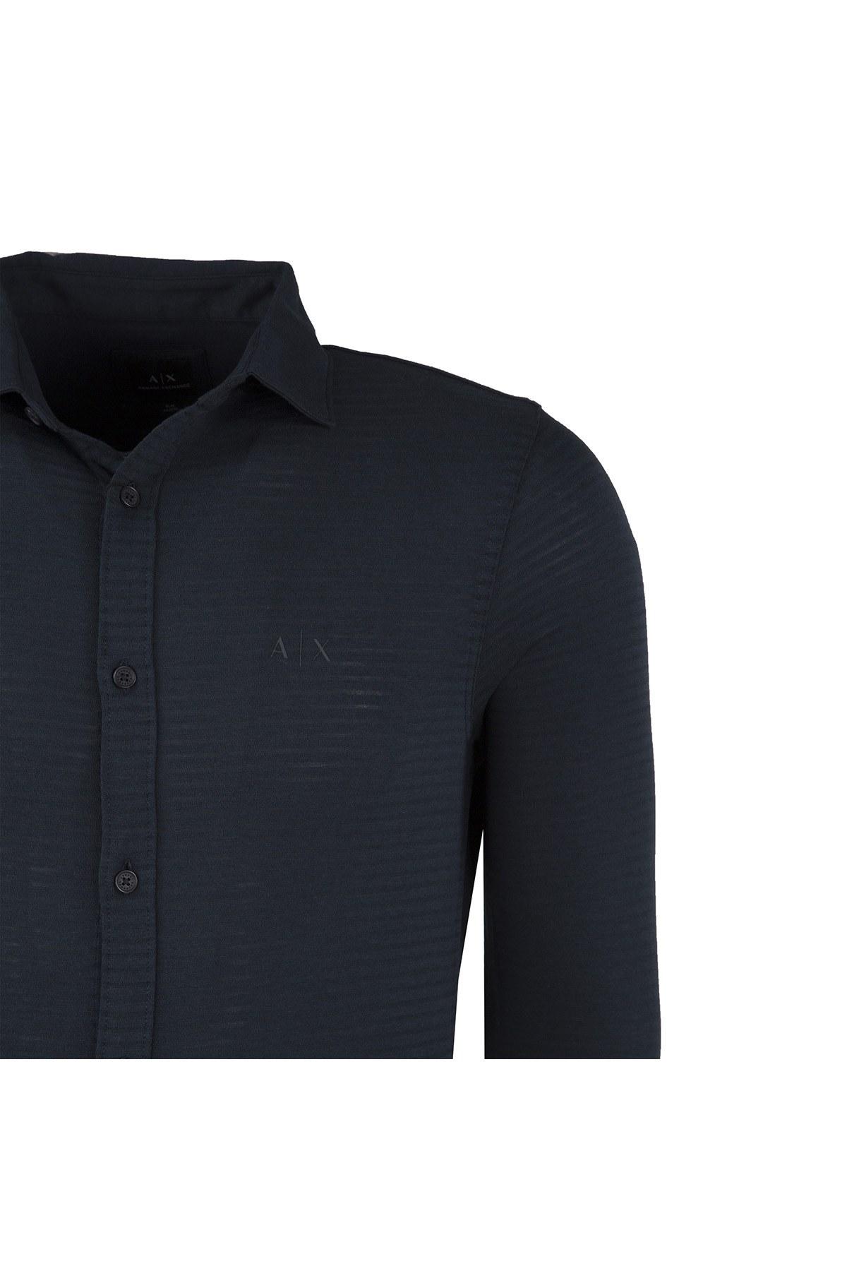 ARMANI EXCHANGE Erkek Gömlek 6ZZC71 ZJBDZ 1510 LACİVERT