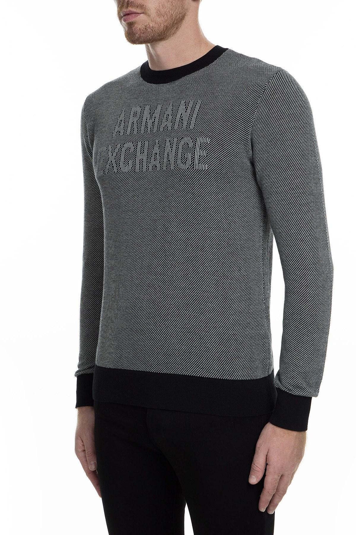Armani Exchange Erkek Kazak 6GZM1H ZMP5Z 5297 SİYAH
