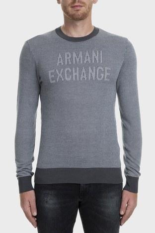 Armani Exchange - Armani Exchange Erkek Kazak 6GZM1H ZMP5Z 5910 GRİ