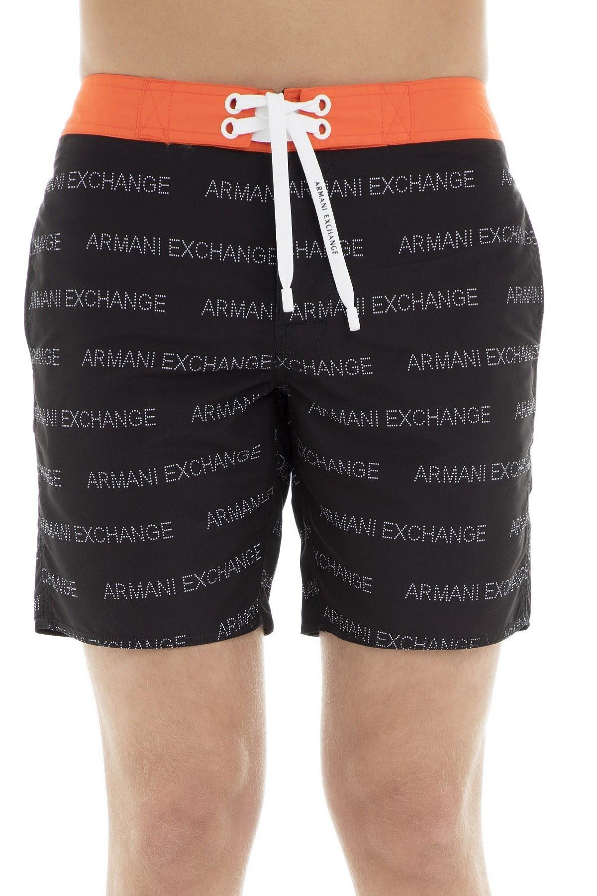 Armani Exchange Erkek Mayo Short 953009 9P603 65820 SİYAH