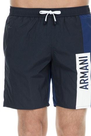 Armani Exchange - Armani Exchange Erkek Mayo Short 953015 9P609 11436 LACİVERT (1)