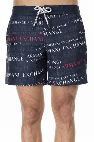 Armani Exchange - Armani Exchange Erkek Mayo Short 953018 0P619 44236 LACİVERT (1)