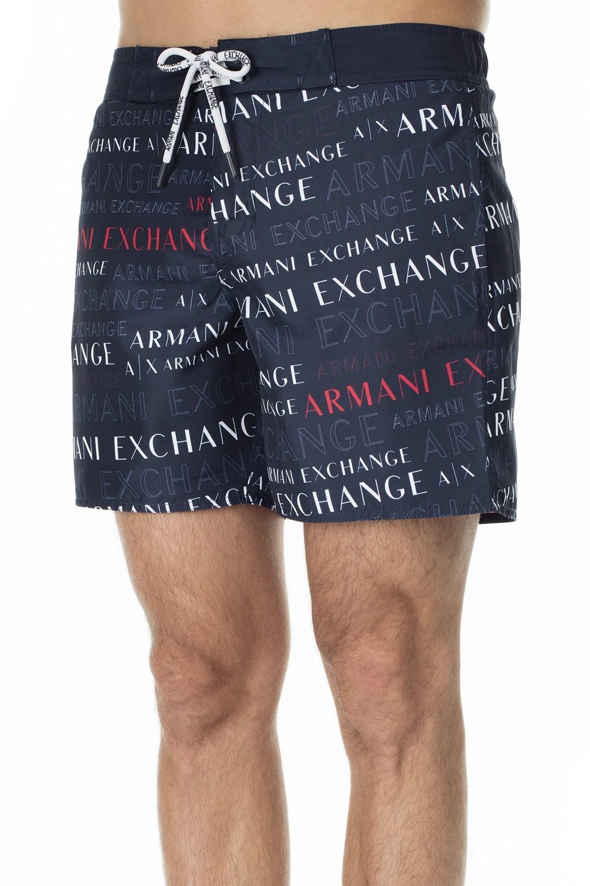 Armani Exchange Erkek Mayo Short 953018 0P619 44236 LACİVERT