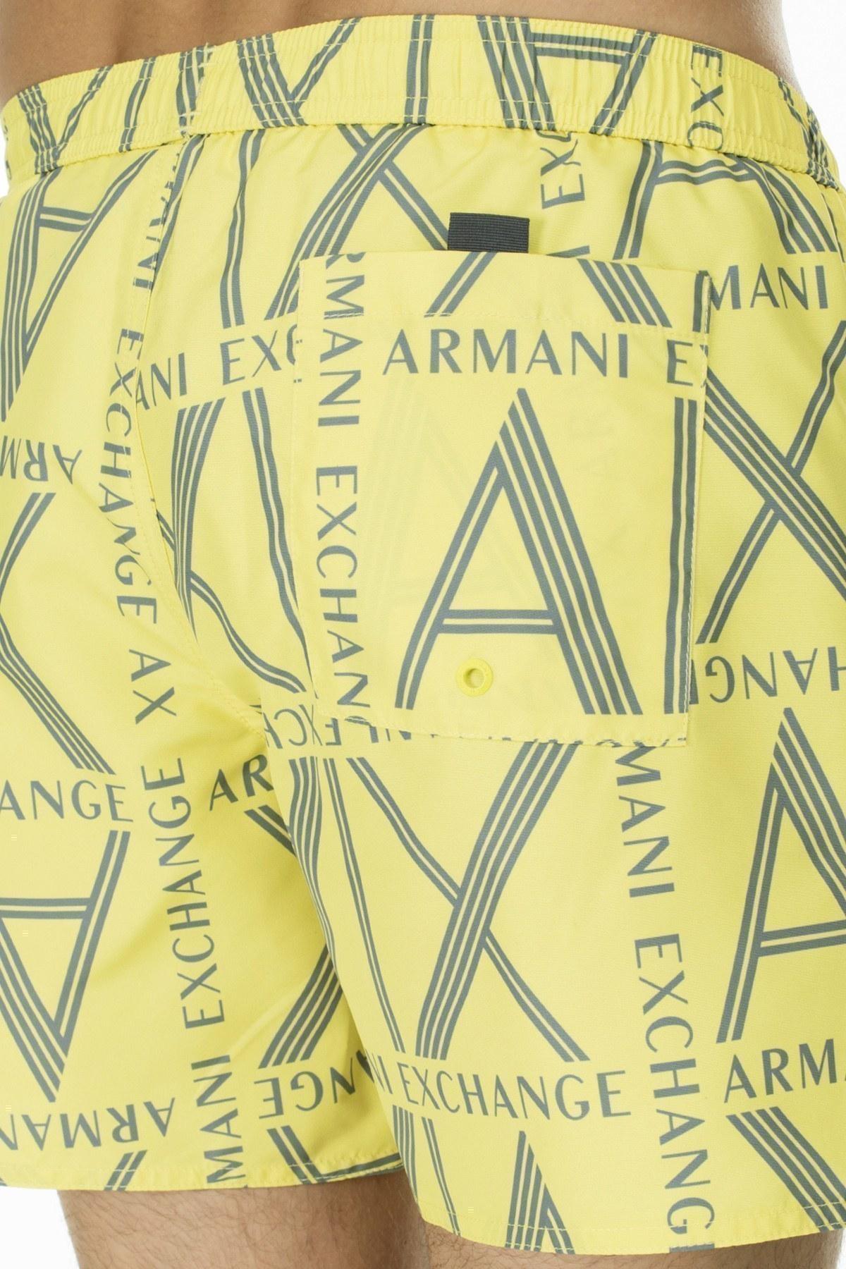Armani Exchange Erkek Mayo Short 953022 0P624 09060 LİMON