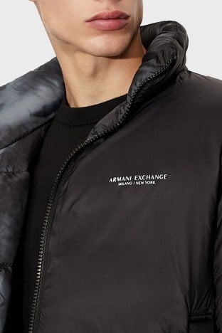 Armani Exchange - Armani Exchange Erkek Mont 6KZBL3 ZNMKZ 02CA YEŞİL-SİYAH (1)